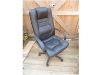 Office / manager chair - faux leather