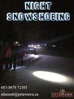 Co-Ed Snowshoeing