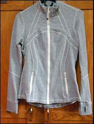 Lululemon Define Jacket Ghost Herringbone Womens Size 10