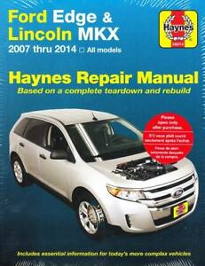 2007 - 2014 Ford Edge & Lincoln MKX Haynes Repair Manual 224X