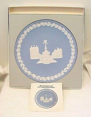 Wedgwood 1971 CHRISTMAS PLATE - PICCADILLY CIRCUS / Third in Series ()