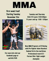 KIDS AND ADULTS MMA