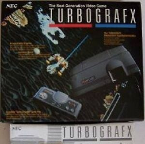 Turbo Grafx 16 PAL Format System Console  NEW Never Used