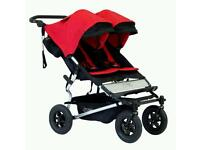 New mountain buggy duet with original box