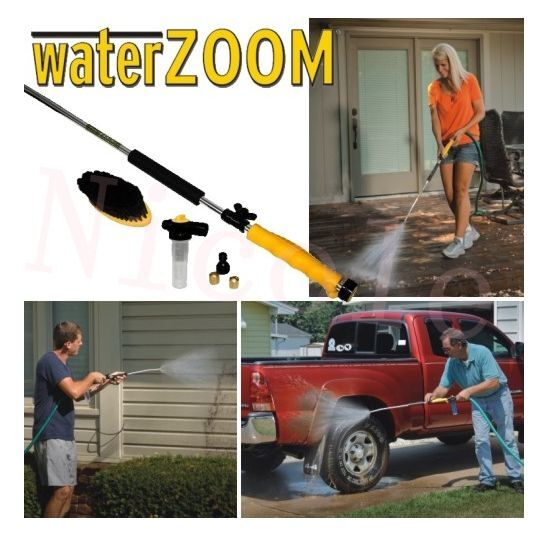 WATER ZOOM - High Pressure Cleaner with Accessories