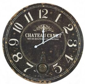 As good as new vintage large wall clock