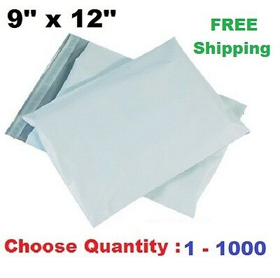 9x12 Poly Mailers Shipping Envelopes Self Sealing Plastic Mailing Bag Size 1000