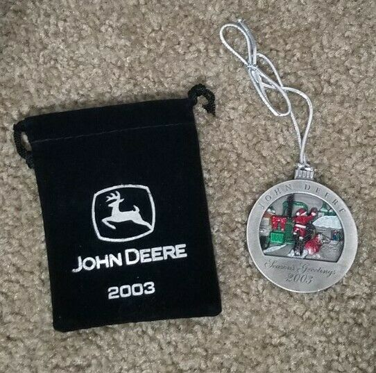 John Deere 2003 Christmas Ornament Limited Collector
