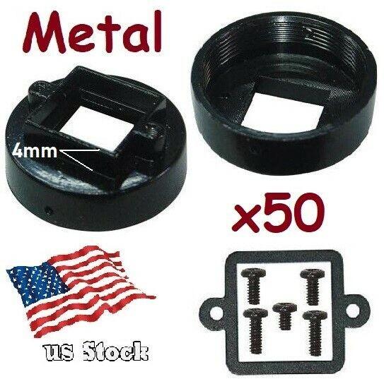 x50 Sunvision Metal CS Mount 4.0mm Lens Holder Kit for CCTV Board Camera (CS-4)
