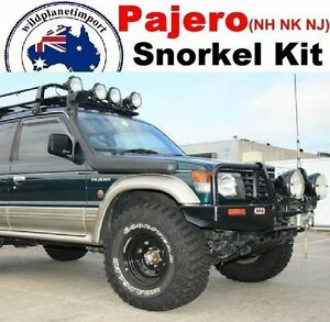Snorkel-Kit-Mitsubishi-Pajero-NH-NK-NJ-V31-V32-V33-1990-to-97-4x4-diesel-petrol