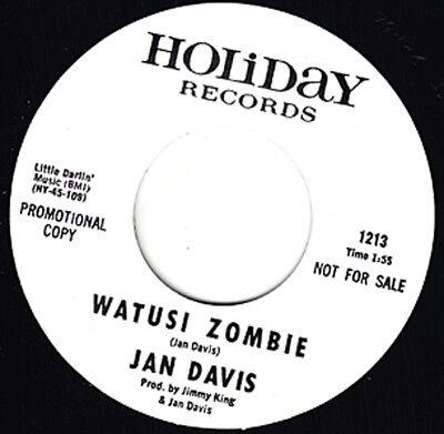 JAN DAVIS Watusi Zombie HOLIDAY Re. 7