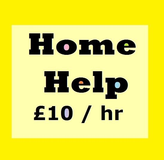 experienced Home Help looking for work