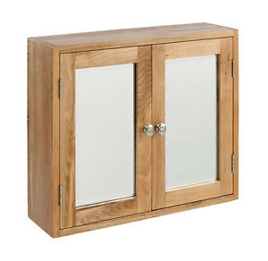 bathroom wall cabinet oak lansdown oak large bathroom cabinet mirror light oak 11832