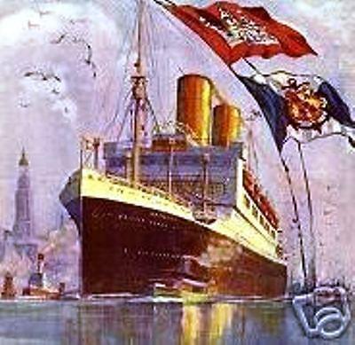 HAPAG Hamburg-Amerikanische Packetfahrt Hamburg histor Aktie 1936 Schifffahrt