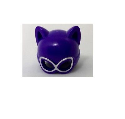 Lego Dark Purple Catwoman Headgear Mask for mini- figure 70912](Catwoman Mask For Kids)