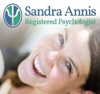 Counselling Psychologist - Sandra Annis B.Sc., B.A., M.A R.Psych