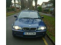 2003 BMW 3 SERIES 330I AUTOMATIC E46 FULL LEATHERS FULL SERVICE HISTORY 10 MONTHS MOT