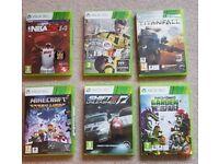 Xbox 360 six game bundle