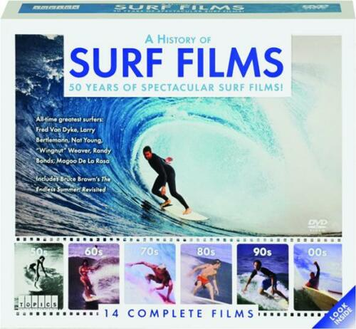 A History of Surf Films 12-DVD set