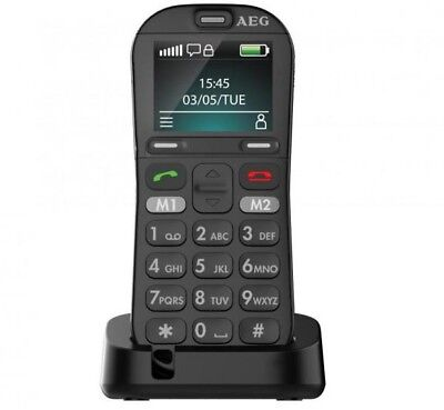 AEG Voxtel M320 Großtasten Handy - einfach zu bedienen vertragsfrei