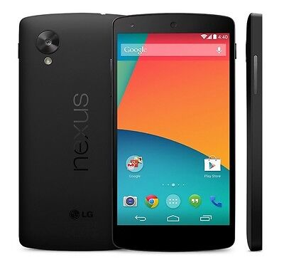 LG Nexus 5 D820 -16GB - Black (Unlocked)GSM Smartphone Cell Phone AT&T T-Mobile