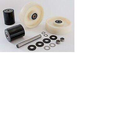 Multiton Tm 55 Pallet Jack Complete Wheel Kit