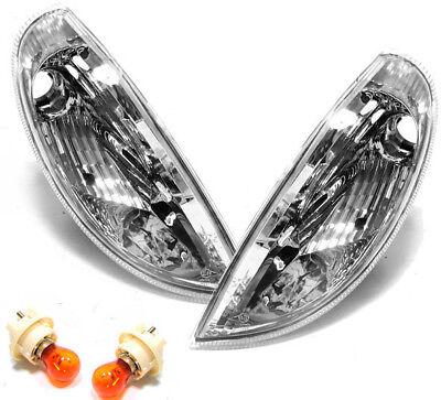 Klarglas Blinker chrom für Mercedes SLK R170 96-04