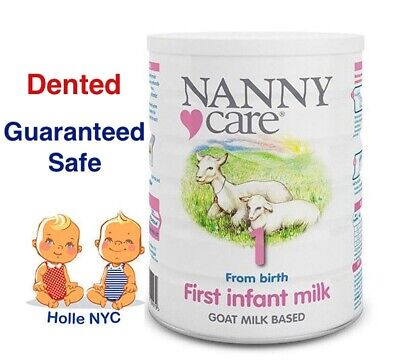 NANNY Care Infant Stage 1 Formula Goat Milk 900g Free Expedited Shipping Dented Infant Newborn Baby Formula