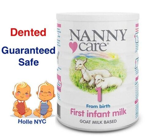 NANNY Care Infant Stage 1 Formula Goat Milk 900g Free Expedited Shipping Dented