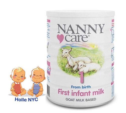 NANNY Care Infant Stage 1 Formula Goat Milk 900g FREE EXPEDITED SHIPPING