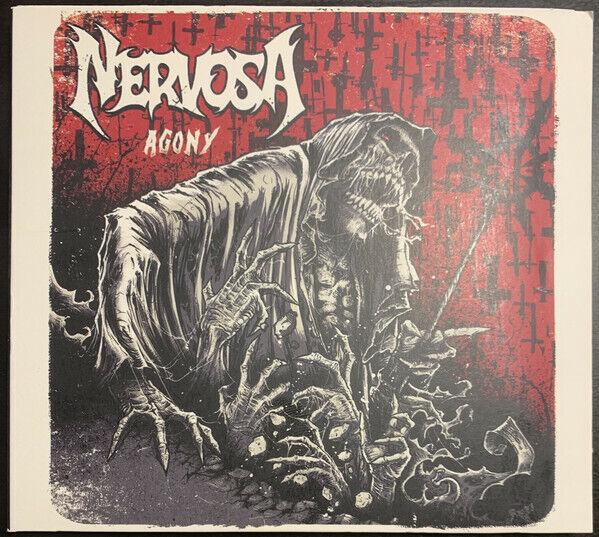Nervosa - Agony CD - USED Like New Digipak - Rare Brazil Female Thrash Metal - $16.99
