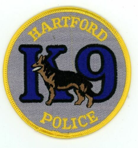 CONNECTICUT CT HARTFORD POLICE K-9 NEW PATCH SHERIFF