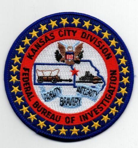 KANSAS KS MISSOURI MO FBI KANSAS CITY POLICE NEW PATCH SHERIFF