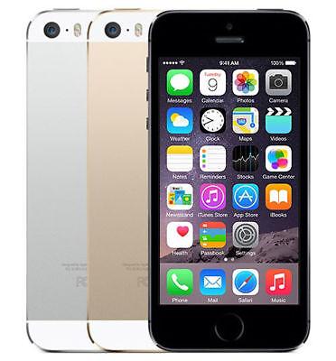 Apple Iphone 5S   16Gb 32Gb 64Gb   Factory Unlocked   T Mobile Cricket Metro Pcs
