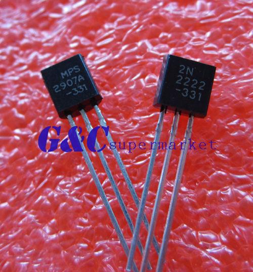 200PCS  Transistor TO-92 2N2907 2N2907A  NEW