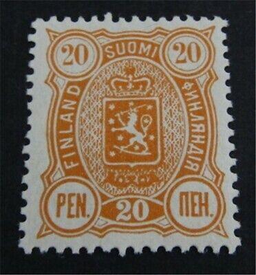 nystamps Finland Stamp # 41 Mint OG H $95   L23y252