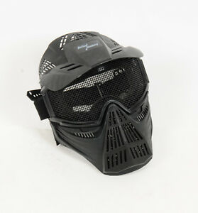 Tactical steel wire safety black mask
