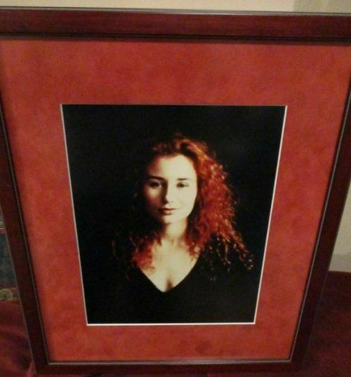 "Tori Amos - Beautifully framed SIGNED Photo - framed 12"" x 14"""