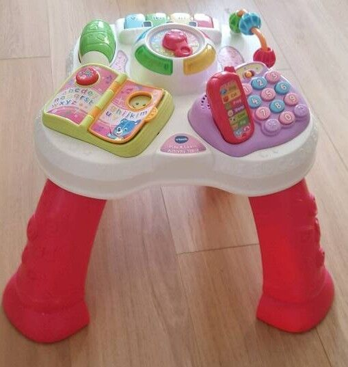 V-Tech Baby activity table + batteries