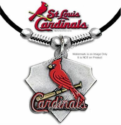 Louis Cardinals Gift - ST LOUIS CARDINALS NECKLACE - MLB BASEBALL SPORTS JEWELRY GIFT - FREE SHIP #L'
