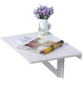 Fold down table/desk white from ikea