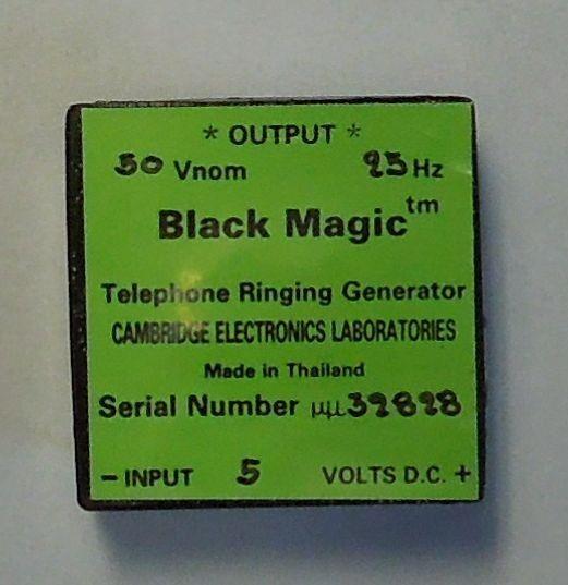 Black Magic Telephone Ringing Generator