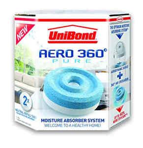 UniBond 1807921 Aero-360 Moisture Absorber Refills (2x Refill)