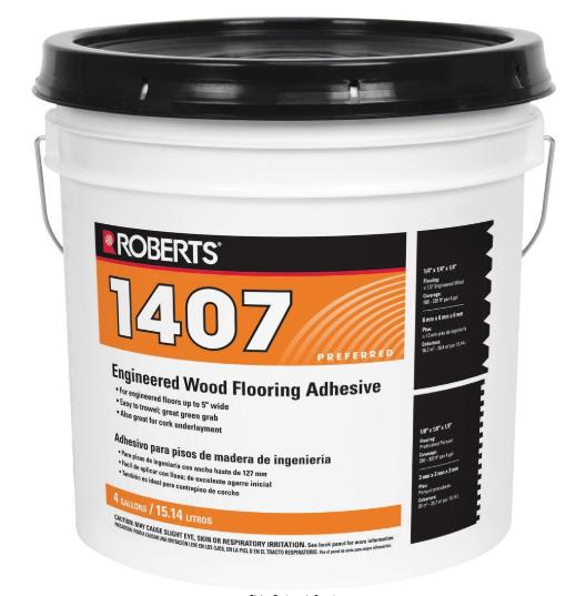 Engineered Wood Flooring Glue Adhesive Solid Formula Solvent