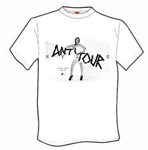 Kylie Minogue The Anti Tour T Shirt New Black or White