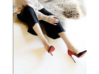 nightclub wedding pointed ombre shimmer ladies sexy high heel office court shoes