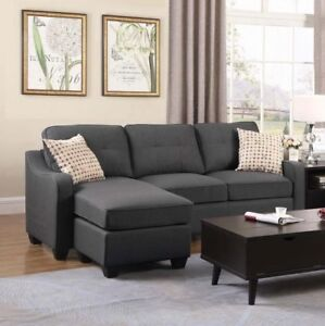 BRYNN REVERSIBLE SECTIONAL - $799 NO TAX - FREE LOCAL DELIVERY