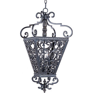 Ornate Solid Iron Pendant by Maxim Lighting – FLAWLESS!!!