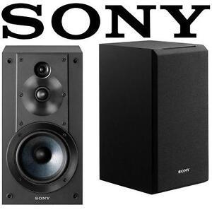 REFURB SONY 3-WAY SPEAKER SYSTEM - 114363568 - 3-DRIVER BOOKSHELF AUDIO BLACK