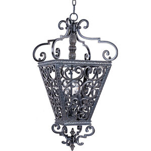 Extremely Ornate Iron Pendant by Maxim Lighting – FLAWLESS!!!